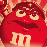 M&M's Red