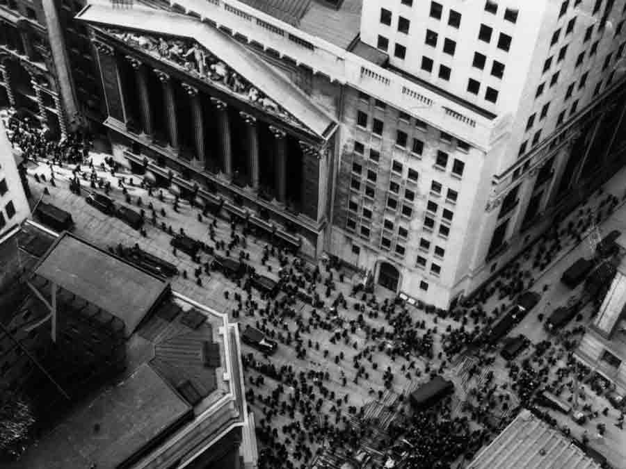28 октября 1929 г., «черный понедельник»