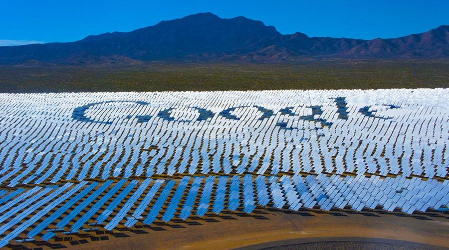 Google переходит на солнечную и ветровую энергию