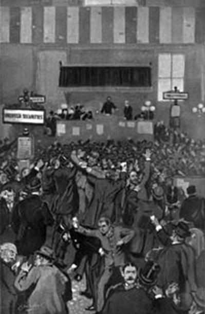 Паника на NYSE 5 мая 1893 г.