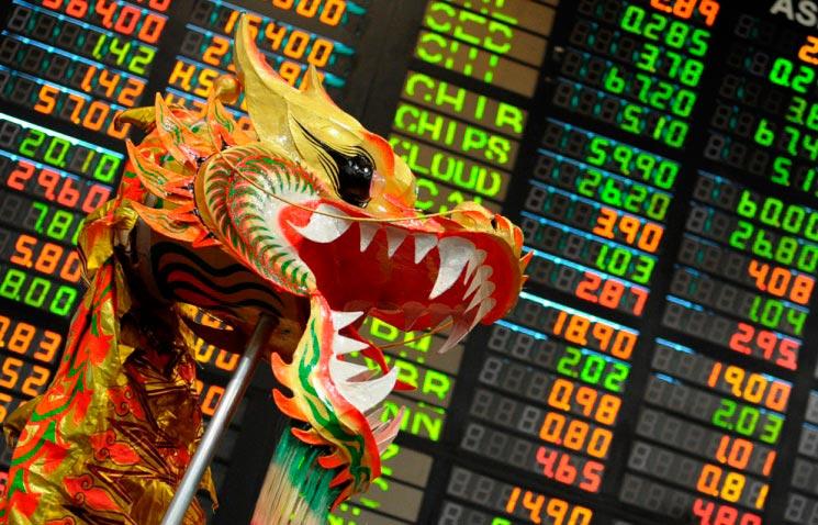 Картинки по запросу китай+фондовый рынок
