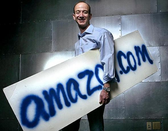 Джефф Безос: Amazon всегда есть к чему стремиться