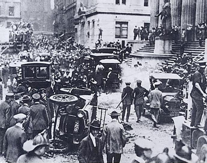 Взрыв на Уолл-стрит 16.09.1920