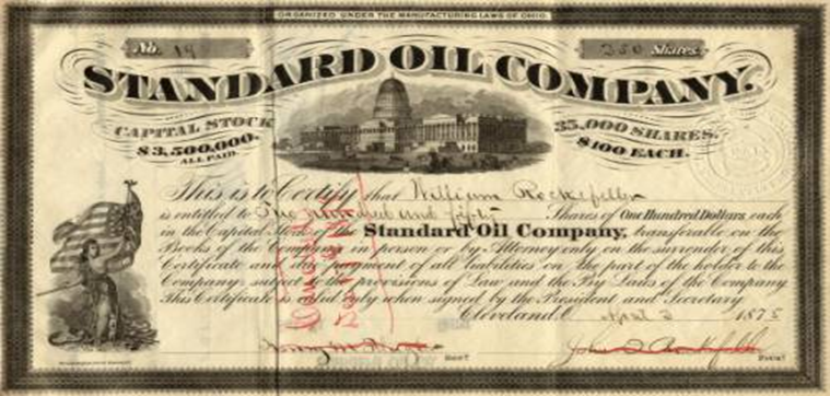 standard oils attempt to achieve a monopoly on american oil market China's development: assessing the implications labour surplus into a market economy - and it won't achieve high rates of attempt to use the yuan.