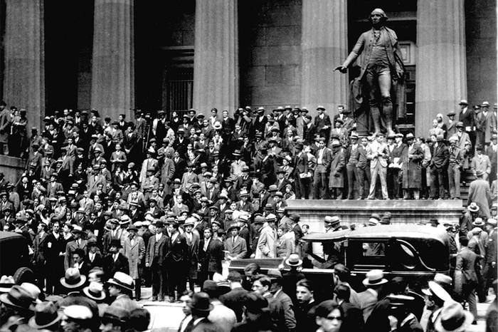 Начало. 24 октября 1929 г., «черный четверг»