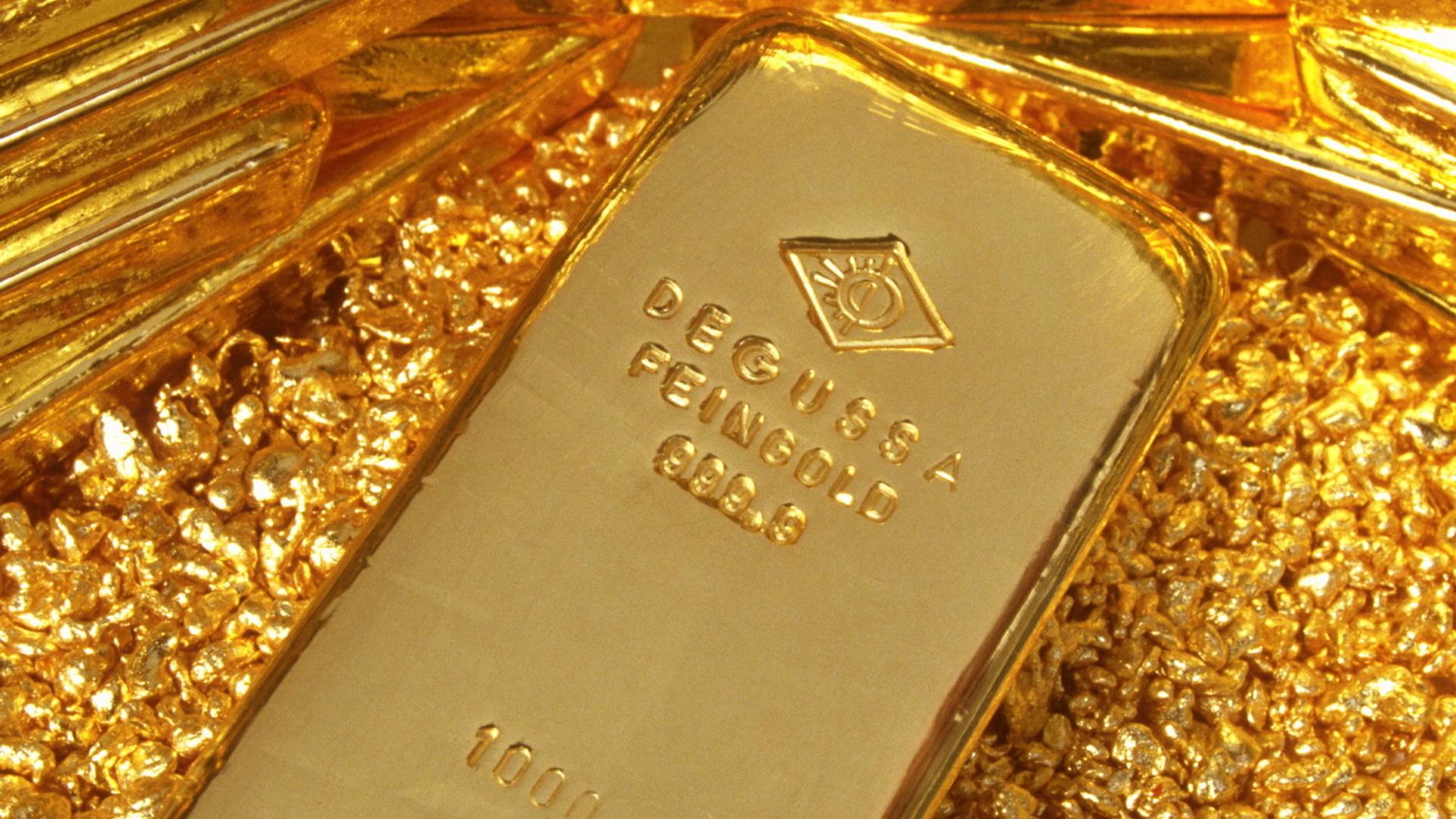 Золото взлетело вверх со «скоростью звука»