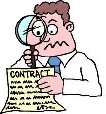 Какие условия договора различают